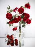 Strawberry & roses Royalty Free Stock Image