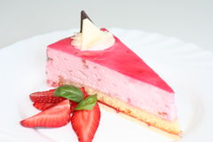 Strawberry's dessert Royalty Free Stock Photos