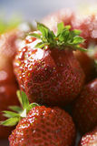 Strawberry's pyramid Stock Image