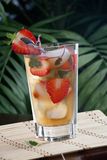 Strawberry Sage Iced Tea Stock Images