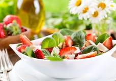 Strawberry salad Stock Photography