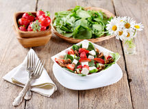 Strawberry salad Royalty Free Stock Photos