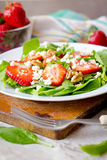 Strawberry salad Royalty Free Stock Photography