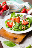 Strawberry salad Royalty Free Stock Photos