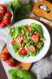 Strawberry salad Stock Image