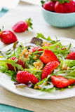Strawberry salad Royalty Free Stock Photo
