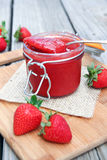 Strawberry Sauce Royalty Free Stock Photo