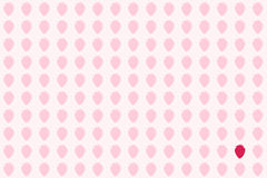 Strawberry Scrapbook Background Stock Photos