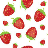 Strawberry seamless Stock Photo