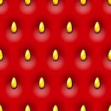 Strawberry seamless background Stock Photography