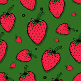 Strawberry seamless pattern for your design Royalty Free Stock Photo