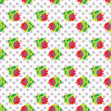 Strawberry Seamless vector pattern Royalty Free Stock Photos