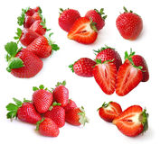 Strawberry Set Stock Photography