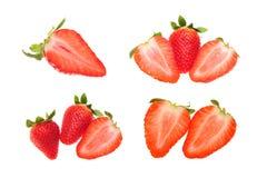Strawberry set Royalty Free Stock Image