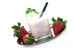 Strawberry shake stock photos