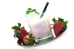 Strawberry shake Stock Photos