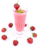 Strawberry Shake Royalty Free Stock Photo