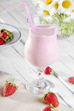 Strawberry shake Royalty Free Stock Image