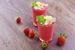 Strawberry shake Stock Image
