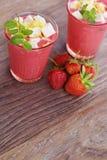 Strawberry shake Royalty Free Stock Image