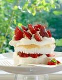 Strawberry shortcake Royalty Free Stock Images