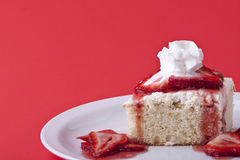 Strawberry shortcake Royalty Free Stock Photography