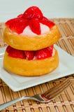 Strawberry Shortcake Royalty Free Stock Photos