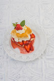 Strawberry Shortcake Stock Images