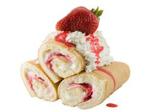 Strawberry Shortcake Royalty Free Stock Photo