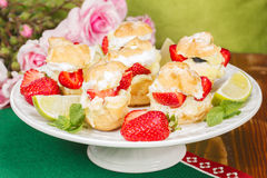 Strawberry Shortcakes Royalty Free Stock Photos
