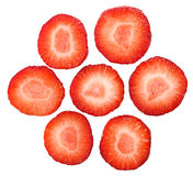 Strawberry Slices Royalty Free Stock Photo