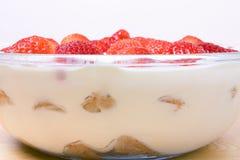 Strawberry Slovak Desert Stock Images