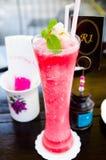 Strawberry smoothie Stock Image