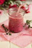 Strawberry smoothie Royalty Free Stock Image