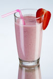 Strawberry smoothie drink Stock Photography