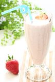 Strawberry smoothies Royalty Free Stock Images