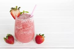 Strawberry smoothies pink colorful fruit juice beverage healthy. Strawberry smoothies pink colorful fruit juice beverage healthy high protein the taste yummy in royalty free stock photo
