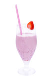 Strawberry smothie Royalty Free Stock Image