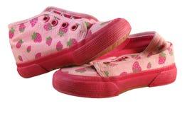 Strawberry sneaker Stock Photos