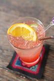 Strawberry soda Royalty Free Stock Image