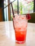 Strawberry soda Stock Photos