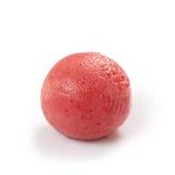 Strawberry sorbet. Ball on white background Royalty Free Stock Photo