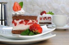 Strawberry souffle Stock Image