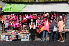 Strawberry souvenir shop in Camera Highlands Royalty Free Stock Photography