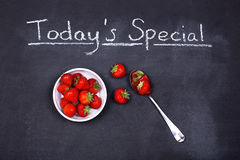 Strawberry special Stock Images