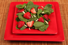 Strawberry Spinach Salad Royalty Free Stock Image
