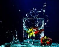 Splashing Up Stock Image
