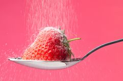 Strawberry Sprinkle Royalty Free Stock Photography