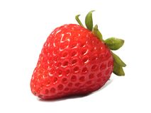 Strawberry. Strawberries very sweet and intense color Royalty Free Stock Image