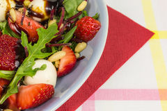 Strawberry summer salad Royalty Free Stock Images